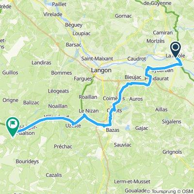 Day 5 - La Réole - St-Symphorien