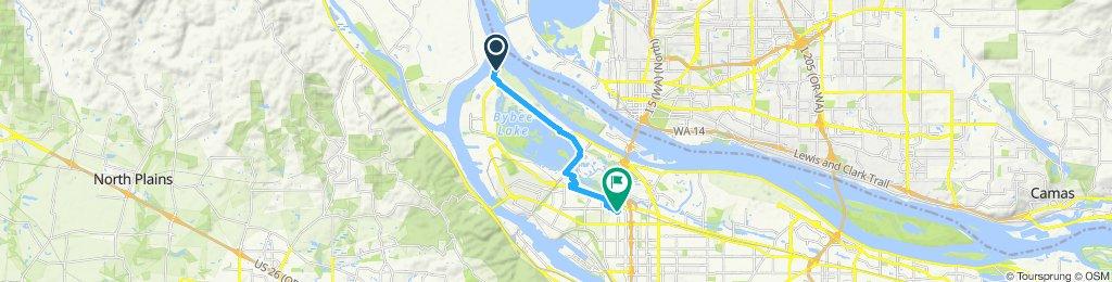 Easy ride in Portland