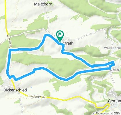 Gemütliche Route in Womrath