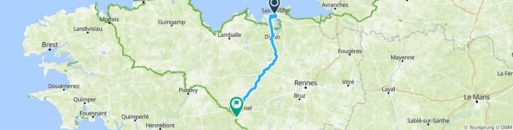 1st Stage St Malo to Nantes | Bikemap - Your bike routes on phuket map, caen map, prague map, lisbon map, rennes map, saint bernard parish map, le havre map, beijing map, amsterdam map, angouleme map, calais map, dublin map, france map, rome map, madrid map, bordeaux map, hong kong map, barcelona map, stockholm map,