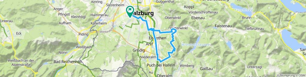 Einfache Fahrt in Salzburg