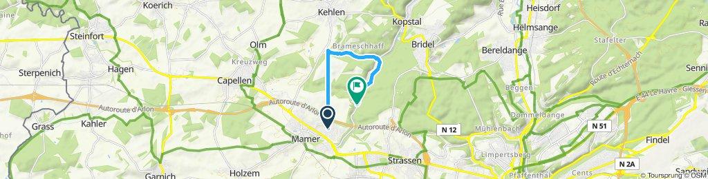 Slow ride in Kehlen