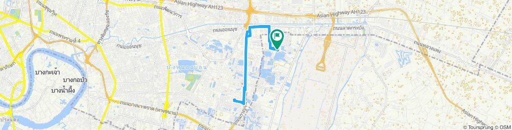 Slow ride in Amphoe Bang Phli