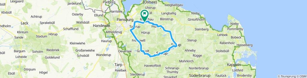 R Rundtour durch Angeln Tour 1