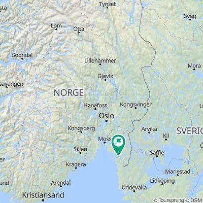 Oslo naar Gala