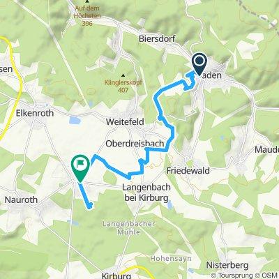 Route im Schneckentempo in Daaden