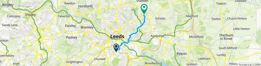 Easy ride in Leeds