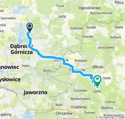 Rajd Szlakiem Kordonów Granicznych - dojazd