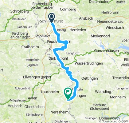 24 Schillingsfürst - Campingplatz Ringlesmühle Nördlingen