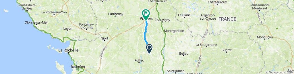 Charroux-Poitiers-35miles1200ft