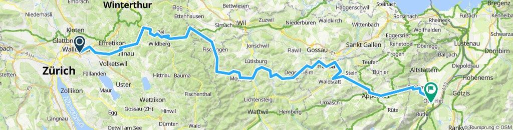 Wallisellen - Oberriet