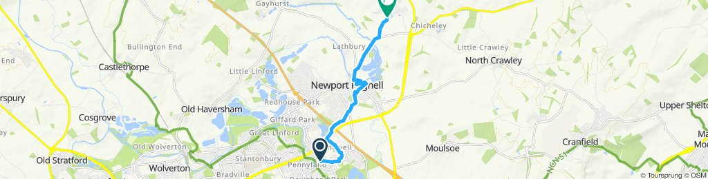 Steady ride in Newport Pagnelltmyg