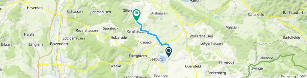Moderate Route in Krebeck