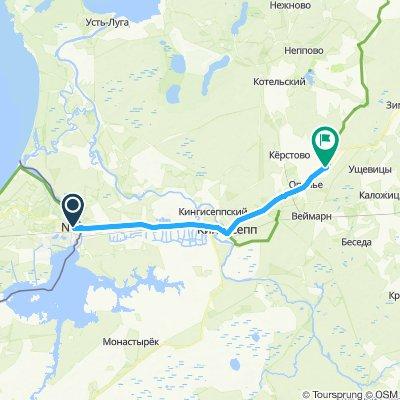 Narva Grenze EST-RUS - Gurlevo
