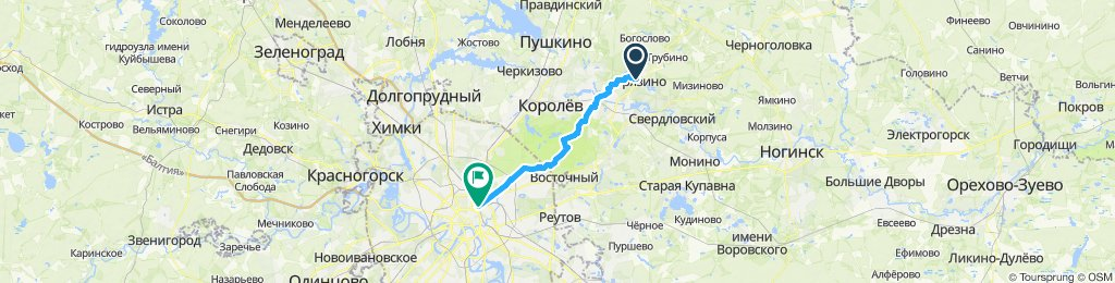 До Ярославского вокзала