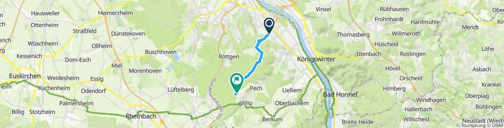 Einfache Fahrt in Wachtberg
