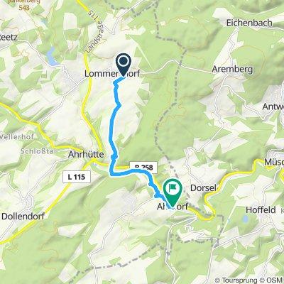 Moderate Route in Blankenheim