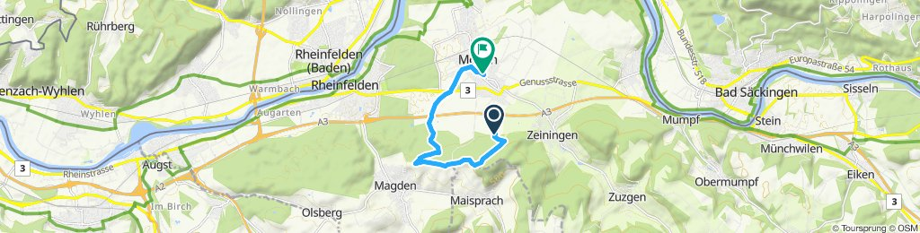 Moderate Route in Möhlin