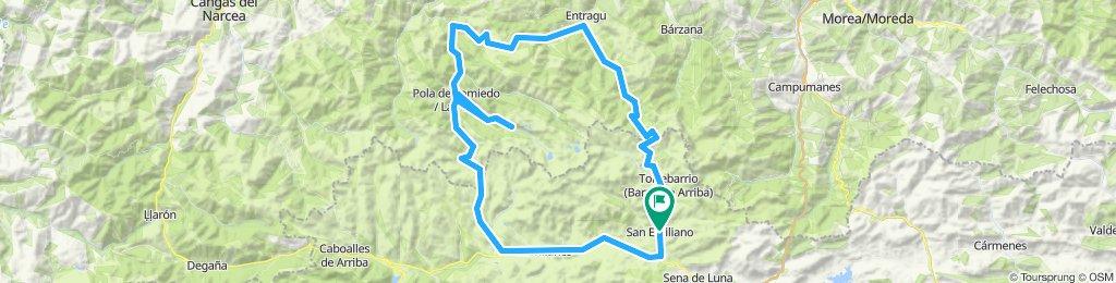 Ruta de los puertos UVA: Somiedo, Farrapona, San Lorenzo y Ventana