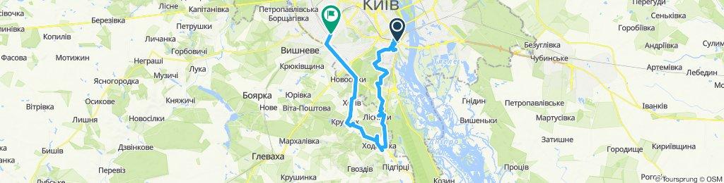 Kyiv-Hodosivka-Zhulyany