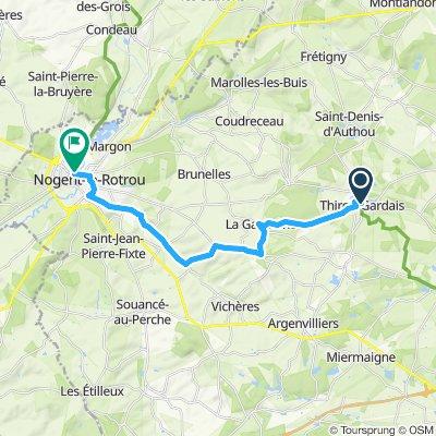 Stage 10 Thiron-Gardais to Nogent-le-Rotrou