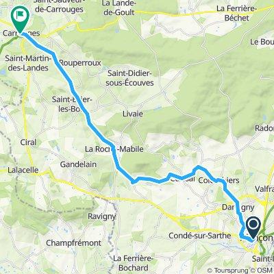 Stage 15 Alençon to Carrouges
