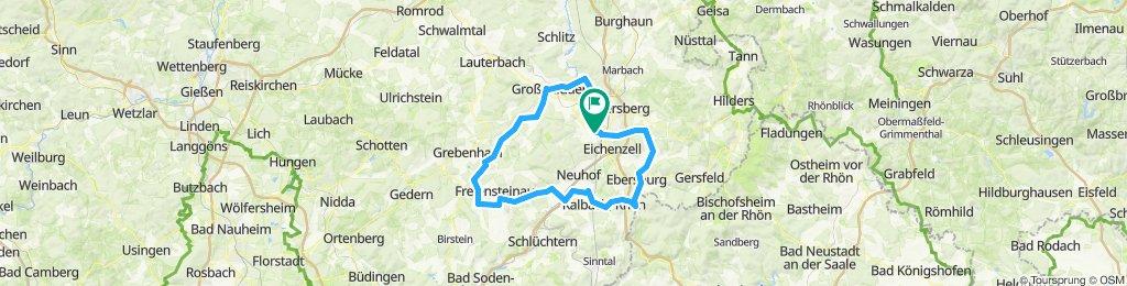 RTF Rund um Fulda RC07 115 km
