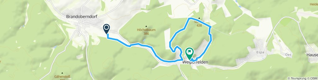 Moderate Route in Waldsolms