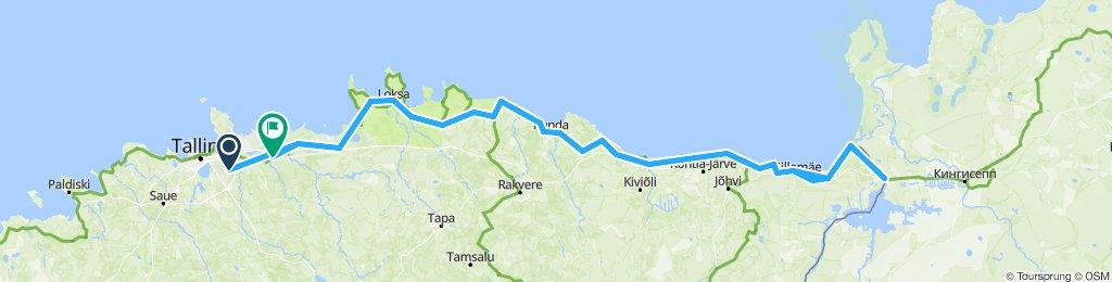 Tallin to Narva