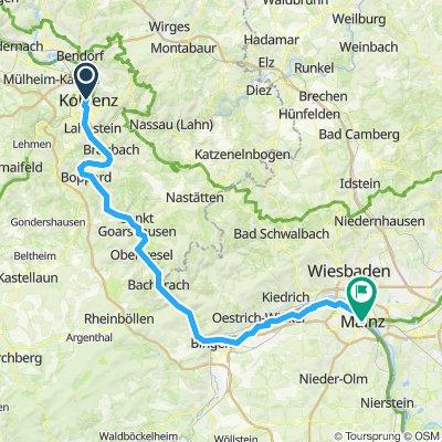 Koblenz to Mainz