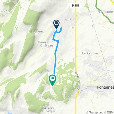 Itinéraire modéré en Mercurey