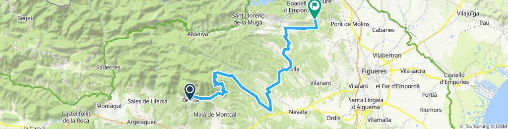 Road bike - Beuda - Escaldes
