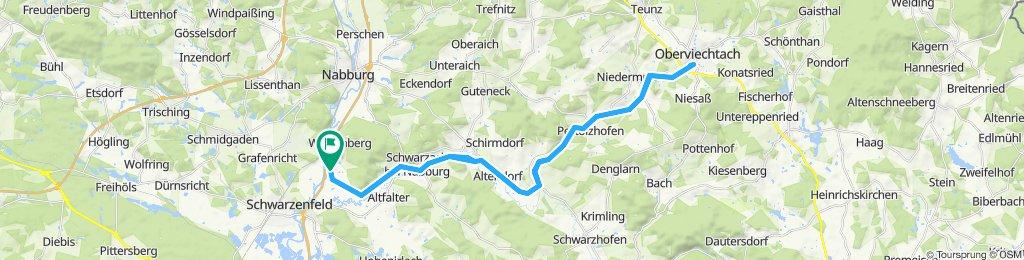 Firmenradtour 2019 Schwarzachtal-Radweg nach Ovi