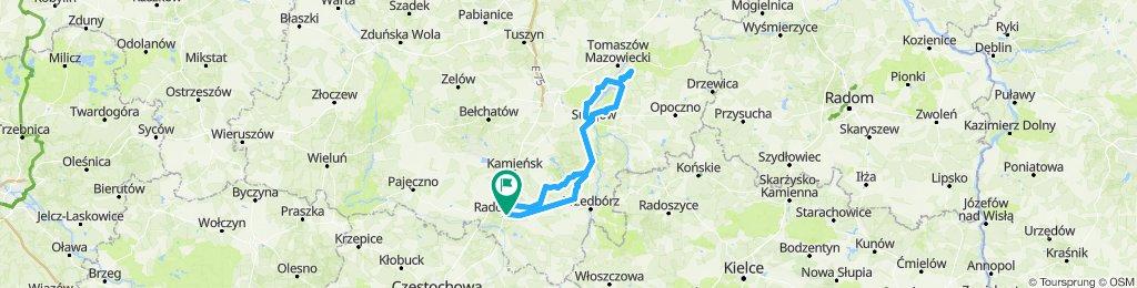 Radomsko-Sulejów-Jeleń