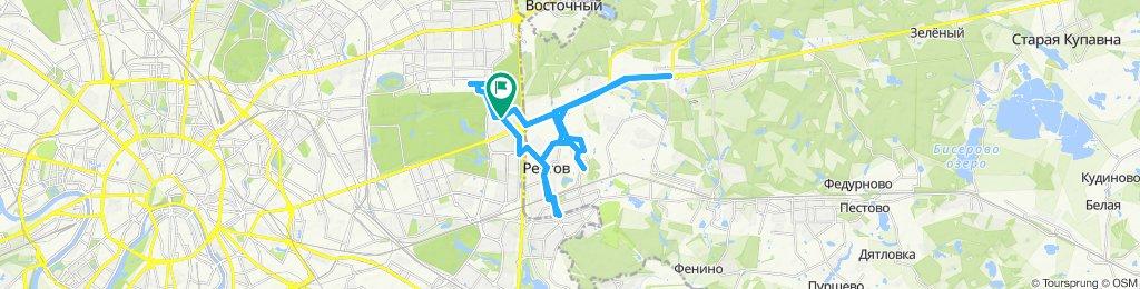 Летние велокурьерские поездки: Измайлово + Реутов + Балашиха