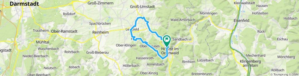 Lengfeld und der Otzberg