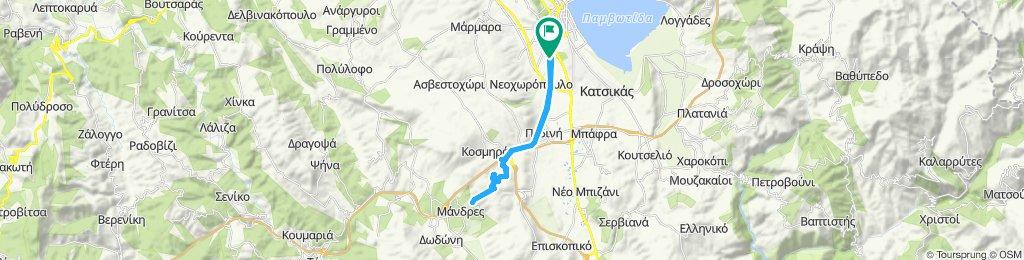 mantio-1 route