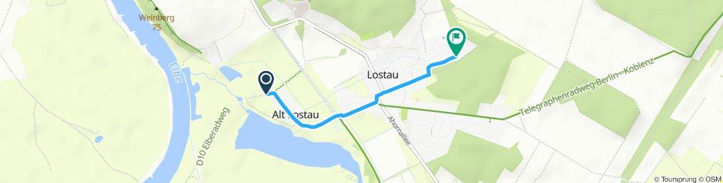 Moderate Route MD Lostau
