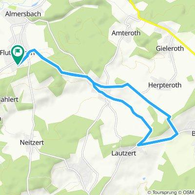 Steady ride in Fluterschen