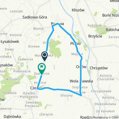 Slow ride in Czermin