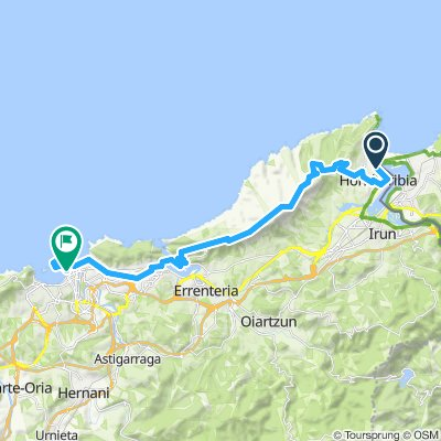 TEH10 Hondarribia - Donostia