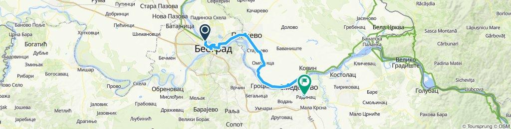 1.deň Belehrad - Smederevo Dunaj 2019