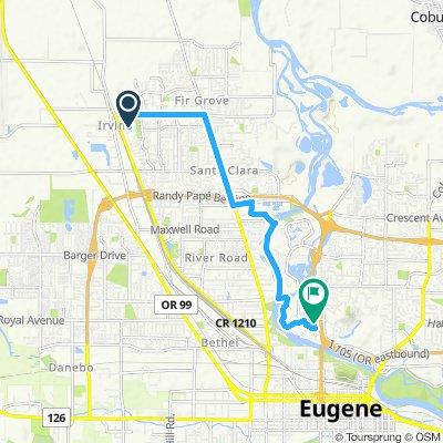 Frozen Yogurt Route