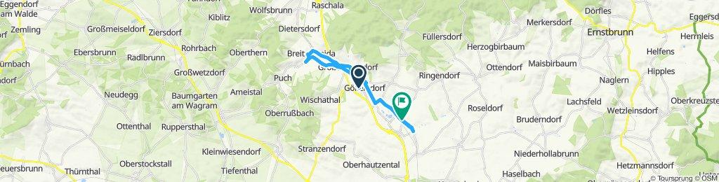 Einfache Fahrt in Sierndorf