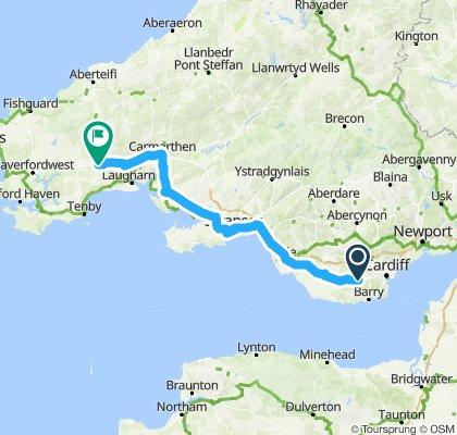 Tour de Wielka Brytania & Irlandia 2018 dzień 3
