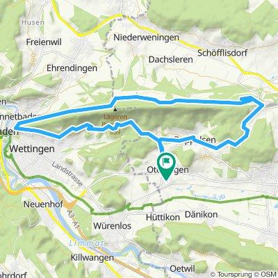 Gemütliche Route in Otelfingen