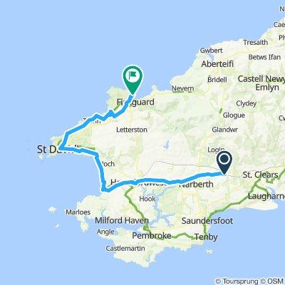 Tour de Wielka Brytania & Irlandia 2019 dzień 4