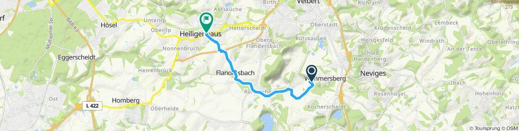 Einfache Fahrt in Heiligenhaus