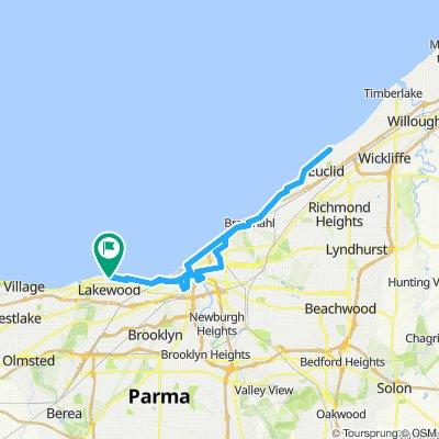 Damon's Ride: 42.5 mi