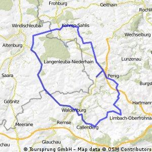 Waldenburg,Nobitz,Gnandstein,Kohren